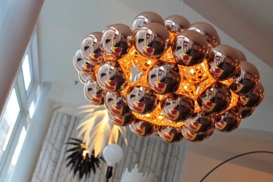 Beads pendant light